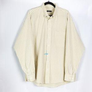 Burberry London Men's long sleeve button down _ XL